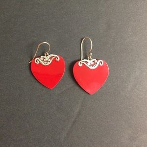 Jewelry - Heart Earrings 925